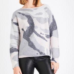 Rag & Bone Camouflage Sweater Size S